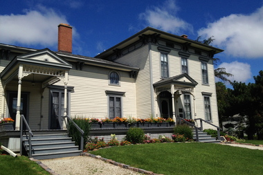 Norwood Park's 140th birthday is being celebrated Saturday at the Noble-Seymour-Crippen House, the oldest home in Chicago.