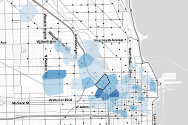 Divvy Map Shows How Commutes Vary In Chicago S Hoods The Loop