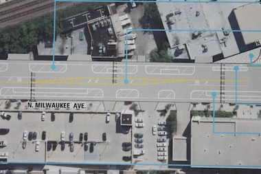 The three proposals unveiled Wednesday aim to improve safety along Milwaukee Avenue, proponents said.