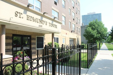 An annex that will add 34 new units to St. Edmund's Tower is planned to begin construction in the fall.