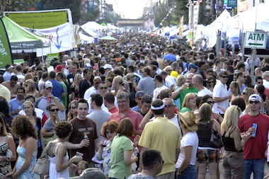 Taste of Lincoln Avenue kicks off Saturday at noon.