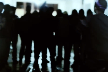 A scene from one of the rapper's music videos on YouTube.