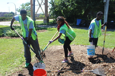 Eight Englewood schools will be recognized on Sept, 19, 2014, for their community gardens by the Whole Kids Foundation.