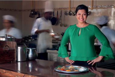 Anupy Singla is hoping to raise $30,000 to film the pilot episode for her program about Indian cooking.