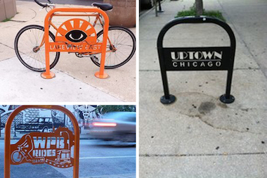 Some bicycle advocates say decorative racks can make it harder for people to lock up their bikes.