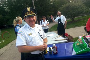 Shakespeare District Capt. Marc Buslik in Wicker Park.