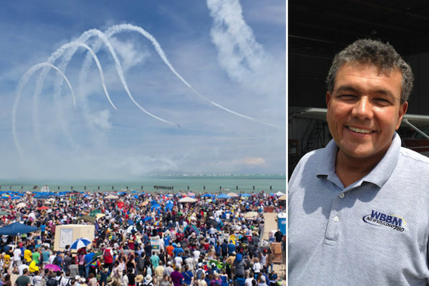 Chicago Air and Water Show Broadcaster Kris Habermehl