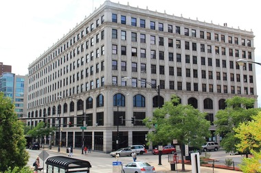 The ICA Greenrise building, a Chicago landmark at 4750 N. Sheridan Rd.