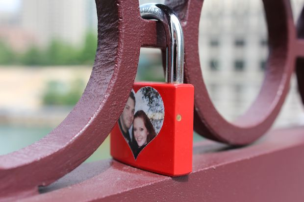 Love locks may be romantic, but the Chicago Department of Transportation says they're also dangerous.