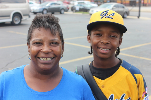 Leak & Sons Funeral Homes in Grand Crossing offered financial help to a Jackie Robinson West player and his family.