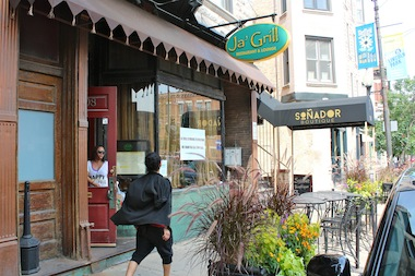 Ja' Grill, 1008 W. Armitage Ave., closed this week as the owner prepares to open a new location in Hyde Park.
