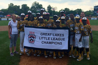 The Jackie Robinson West Little League team won the Great Lakes Regional title and advanced to the Little League World Series.