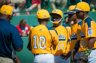 Jackie Robinson West will play for the Little League World Series U.S. title on Saturday against Las Vegas.