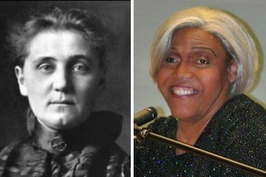 A Transgender activist and prisoner reform advocate, Miss Major Griffin-Gracy (r.), will give a talk at a day-long series of events celebrating Jane Addams' birthday this week.