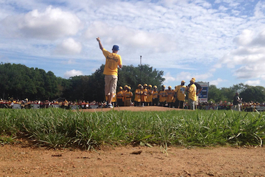 The Jackie Robinson West Team celebrated their historic run in the Little League World Series with rallies and a parade through the streets of Chicago.