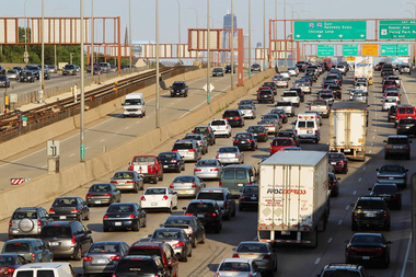 Lane Closures and ramp restrictions will hit the Eisenhower Expressway starting Friday.