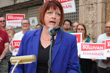 Maureen Sullivan has announced her bid for 11th Ward alderman.