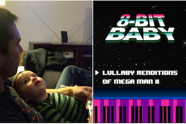 Baby Luke Polydoris was the inspiration for his uncle Mark Polydoris to turn Nintendo video game theme songs into lullabies.