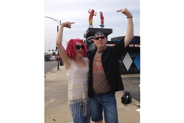 """Sense8,"" from the Wachowskis and J. Michael Straczynski, filmed for two days at Superdawg."