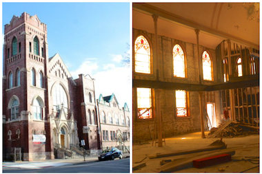 Condos are coming to St. John Church and school in Ukrainian Village.