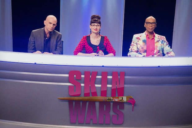 "Robin Barcus-Slonina, a graduate of the School of the Art Institute of Chicago, is a judge and producer of ""Skin Wars,"" a television show debuting Wednesday on the Game Show Network."