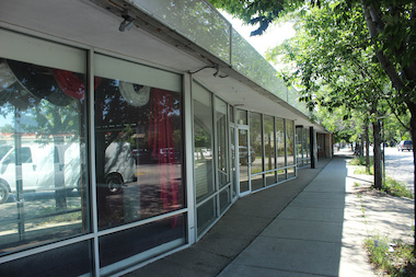 The buildings at 2827-39 W. Touhy Ave. have been vacant for years, officials said.
