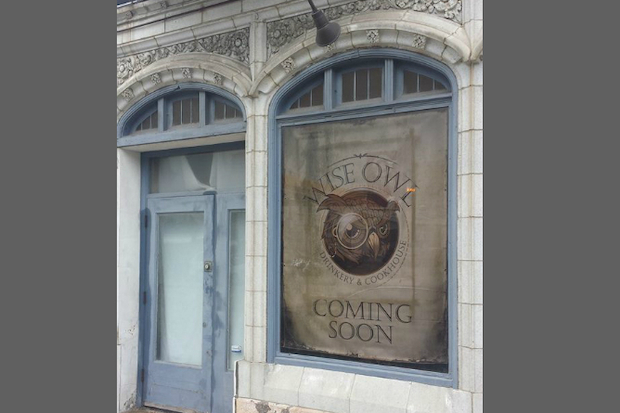 The Wise Owl Drinkery & Cookhouse is planning to open in September at 324 S. Racine Ave.
