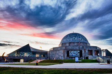 here s when you can go to the adler planetarium for free this fall