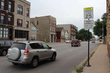 A speed camera on Archer Avenue would disappear in three years if an ordinance proposed by Ald. Roderick Sawyer (6th) can make it through the city council on Wednesday.
