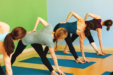 Sunday's yoga bike ride starts in Evanston and ends with an hour-long yoga class for cyclists at Bloom.