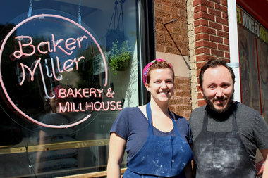 Baker Miller in Lincoln Square is a participating restaurant in BuffetGo, a new service that helps restaurants sell leftover food that would otherwise get thrown away.