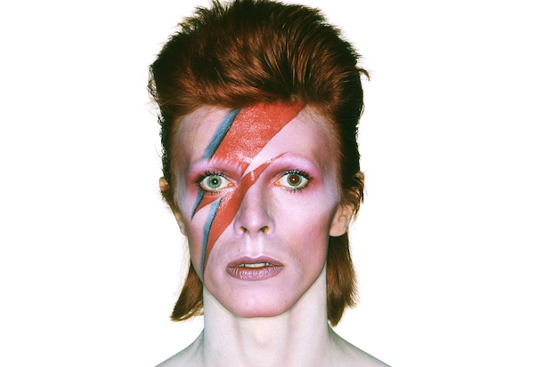 David Bowie as Aladdin Sane.