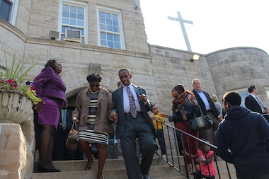 The Rev. Chris Harris of Bright Star Church announced a new center to treat post-traumatic stress disorder in Bronzeville on Thursday.