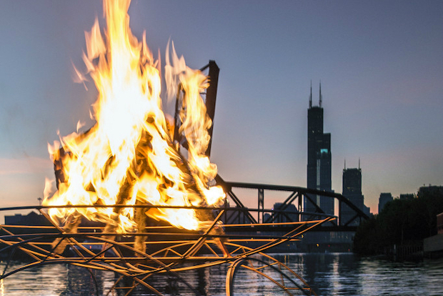 The Great Chicago Fire Festival is Saturday.