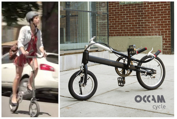 The Occam cycle offers no seat but is a convenient and easy way to get around a city, its developers say.