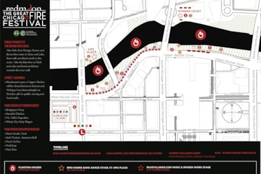 The Great Chicago Fire Festival will be held on Saturday, Oct. 4.