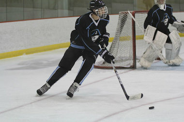 Lincoln Park High School student Ian Beck is making a lengthy commute to play hockey in the Milwaukee suburbs.