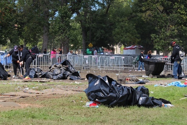 Repairs after 2014 Riot Fest continued into 2015 after a Park District assessment determined more work was necessary.