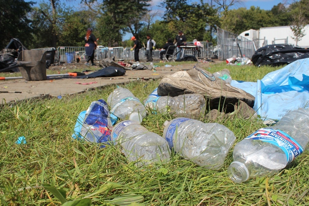 Riot Fest has passed once again leaving behind odors mentioned from the stage and damages still visible.