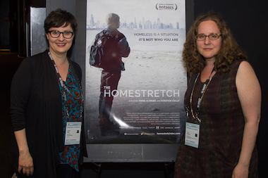 "Filmmakers Kirsten Kelly and Anne de Mare spent five years following the lives of homeless CPS students featured in ""The Homestretch."""