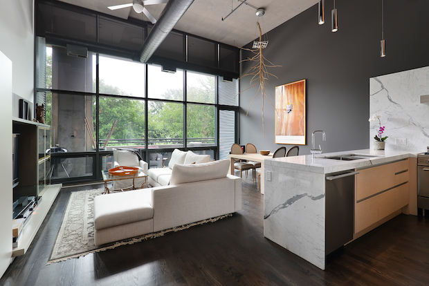 for sale in west lake view condo with custom kitchen for