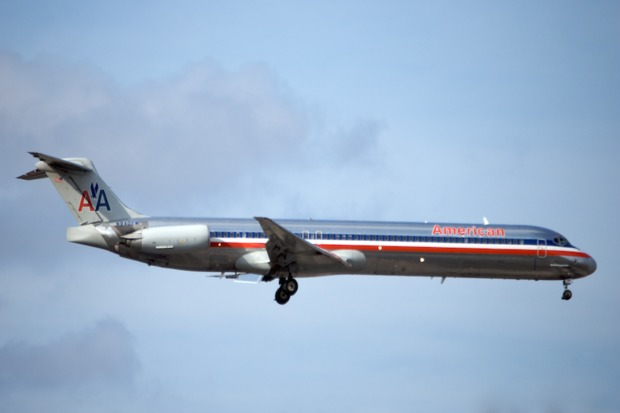 American Airlines will cut the number of these McDonnell Douglas MD-80 planes arriving and departing from O'Hare in an effort to quiet noise complaints in the area.