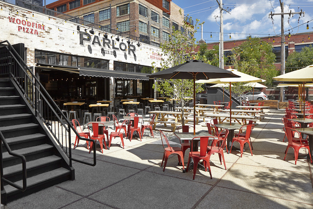 Parlor Pizza Bar, 108 N. Green St., is set to open Friday.
