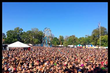 Riot Fest drew record crowds to its 2014 festival in Humboldt Park.