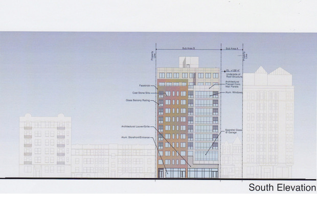 Developers want to build a 50-unit apartment building at 506-514 W. Diversey Pkwy. by spring 2016.