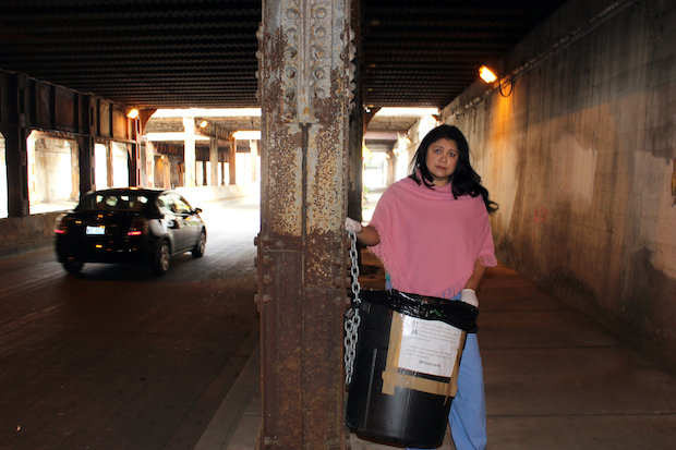 University residents are concerned with the condition of the 16th Street viaducts, which serve as a gateway to Pilsen.