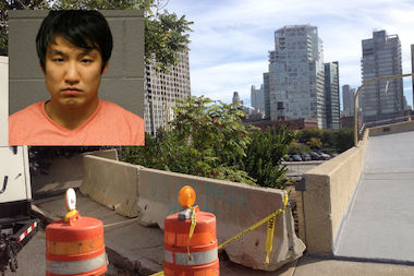 Philip Cho, 28, allegedly left his friends behind after crashing his BMW in the 700 block of West Erie, an industrial area near train tracks and the North branch of the Chicago River, prosecutors said.