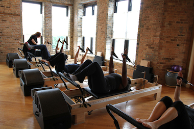 West Town Pilates, on the second floor of the building at 805 N. Milwaukee Ave., will host a grand opening celebration Saturday.