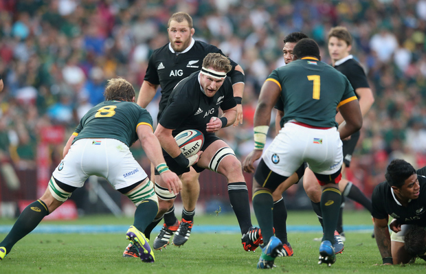 New Zealand's All Blacks rugby team takes on the U.S. Men's Eagles Saturday at Soldier Field.