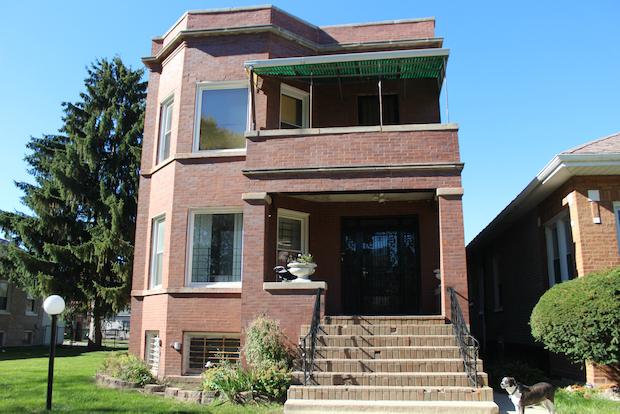 Al Capone's first Chicago home 'with a secret bootlegging ... |Al Capone House In Cicero